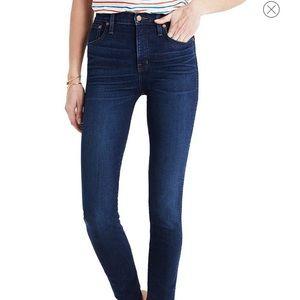 """Madewell Skinny Skinny 10"""" High Rise Jeans"""